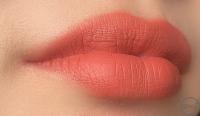 リップマットを唇に塗った画像